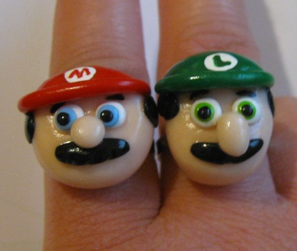 Mario and Luigi friendship rings