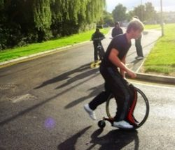 Magic Wheel – Part skateboard, part scooter, part I've-got-no-idea