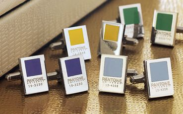 Pantone Clip Cufflinks – Choose your number