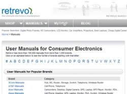 Retrevo Manuals – lost your gadget manual? Try here…