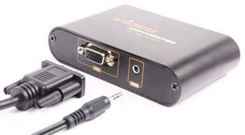 Thanko VGA to HDMI Video Converter – Old school meets hi def