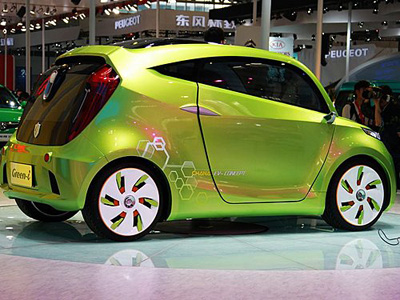 CHANA Green-i Electric Car – only needs ten minutes to charge up
