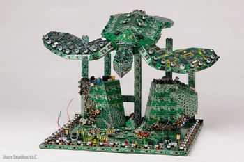stevenrodrigpcbcreations Steven Rodrig PCB Creations   From e waste to awesome art