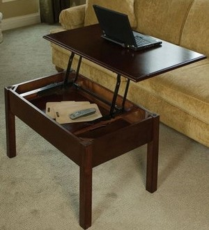 convertiblecoffeetable small1 Convertible Coffee Table   the refined geeks laptop desk