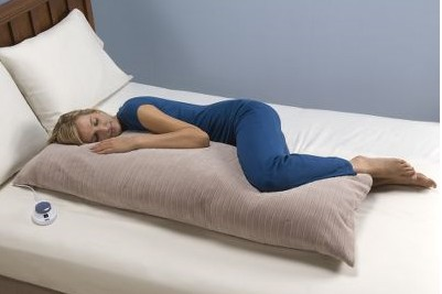 Low Voltage Heated Body Pillow – Safe, warm and available