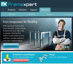 framexpert small FrameXpert   create your own metal furniture online