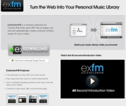 Extension FM – awesome Chrome extension automatically grabs MP3 playlists from the web