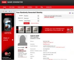 Fake Name Generator – create a completely new identity instantly