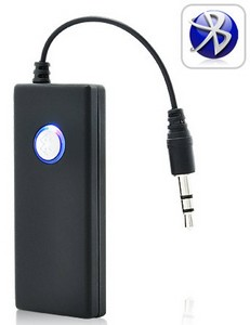 bluetoothaudiotransmitterdongle small Bluetooth Audio Transmitter Dongle   wirelessly link your BT headset with any 3.5 inch headphone socket