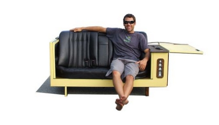The Fridge Couch – function, art and recycling!
