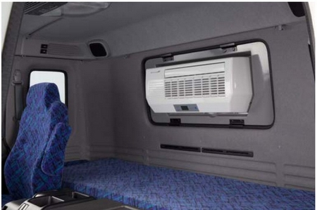 The i-Cool air conditioning system for trucks