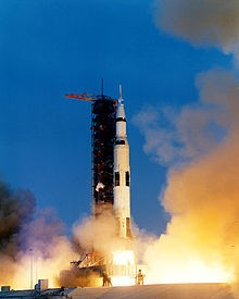 Apollo 13 launches