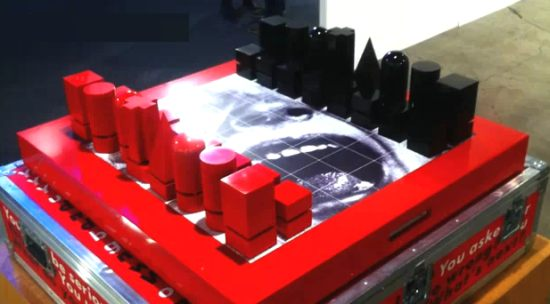 Talking Chess Set will set you back $30k