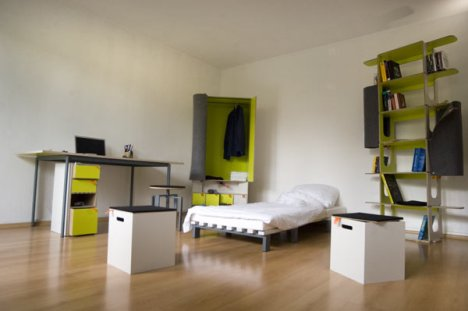 The Casulo is an entire bedroom in a box