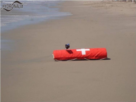 Remote-controlled lifesaving EMILY makes rescuing safer
