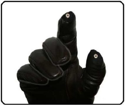 GloveTips let you use your iPhone while still wearing gloves