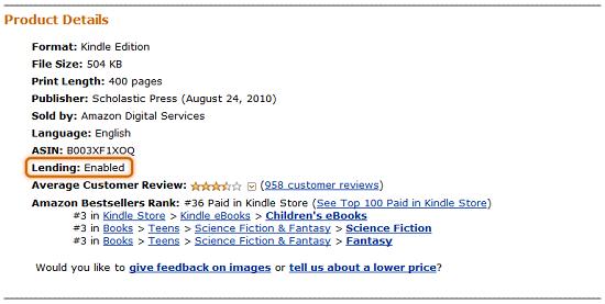 Amazon finally lets you lend out eBooks