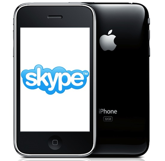 Skype prepares to launch video chatting on the iPhone