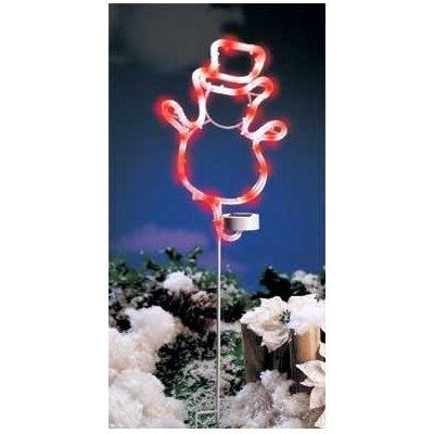 Solar powered Christmas Snowman 1