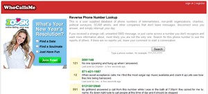 whocallsme small Who Calls Me?   free telephone lookup service helps you track the spam callers
