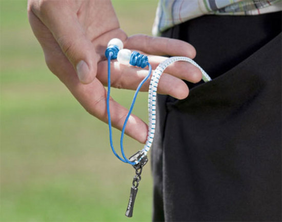 Zipbuds won't turn into a tangled mess in your pocket