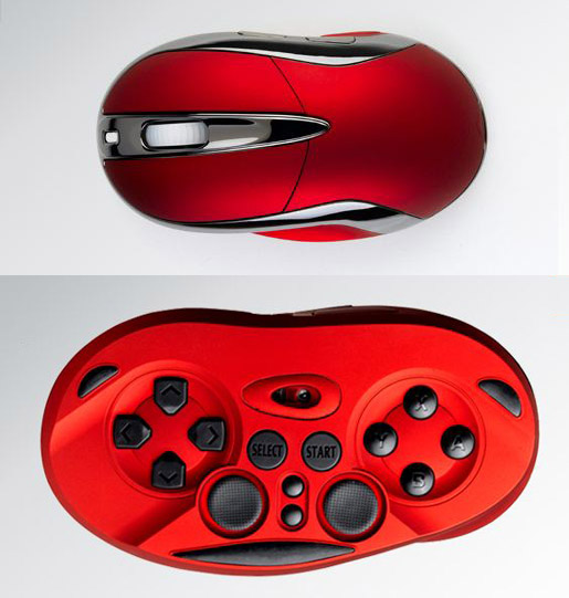 Chameleon X1 is a mouse/gamepad hybrid