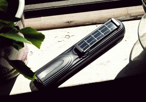 Make a solar-powered TV remote