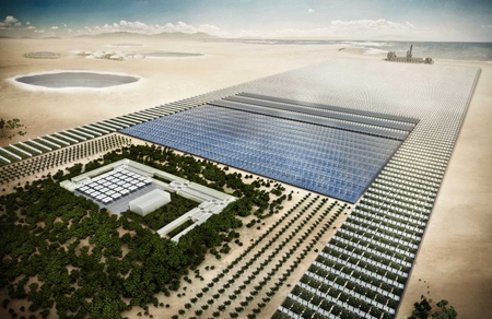 The Sahara Forest Project would help green the desert