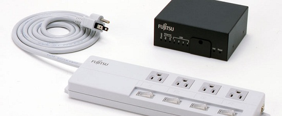 Fujitsu Power Strip lets you monitor your power usage