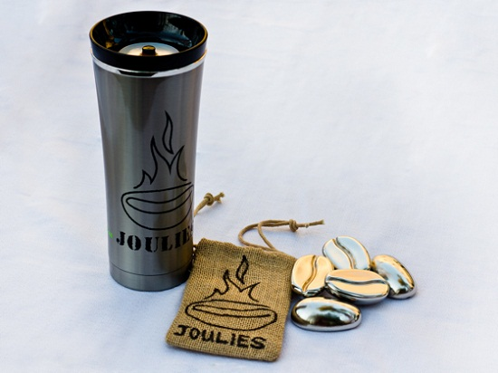 Coffee Joulies keep your cup of Joe at the perfect temperature