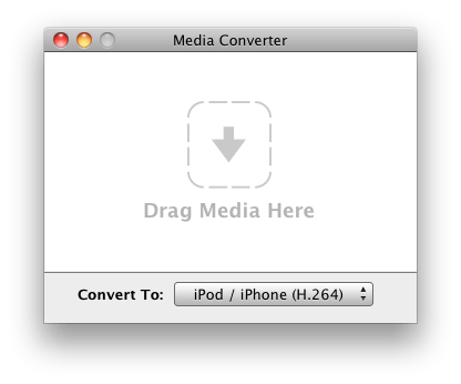 Media Converter is a free and simple way to convert media files