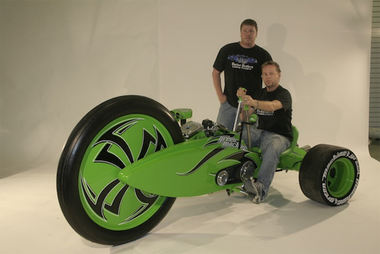 Giant Green Machine can do 50mph