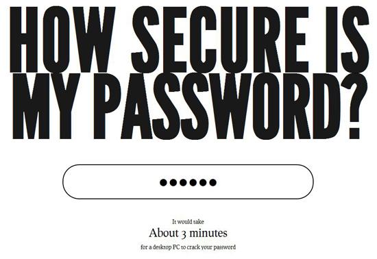 password How Secure Is My Password?