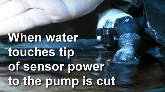DIY Aquarium Overflow Sensor