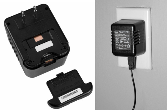 �Plug� & Play hidden camera blends in with your tech