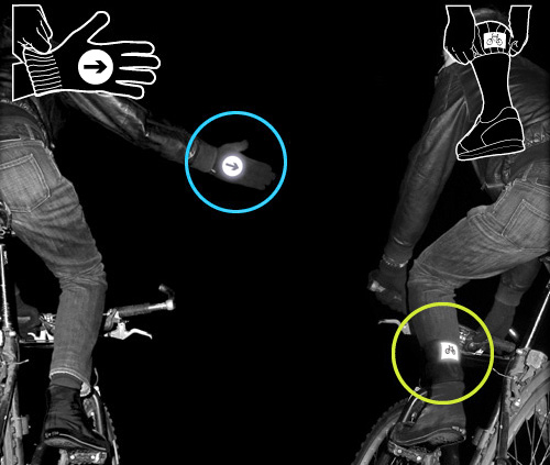 Reflective Gloves And Socks For Cyclists