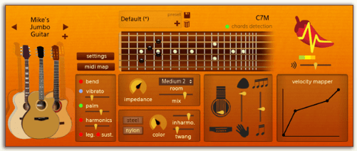 spicyguitarsynthesis Spicy Guitar   freeware guitar synthesizer offers fun licks for all