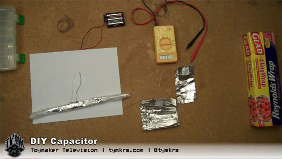 Learn how to make your own DIY Capacitor