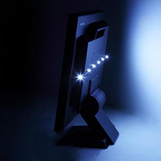 Antec LED BIAS Lighting helps reduce eye strain