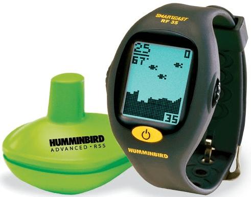 Humminbirdwristwatchfishfinder