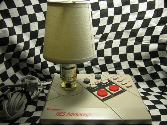 NES Advantage Lamp re-purposes that old joystick