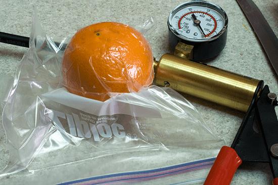 Vacuum-seal cheap Ziploc bags to make your food last longer.