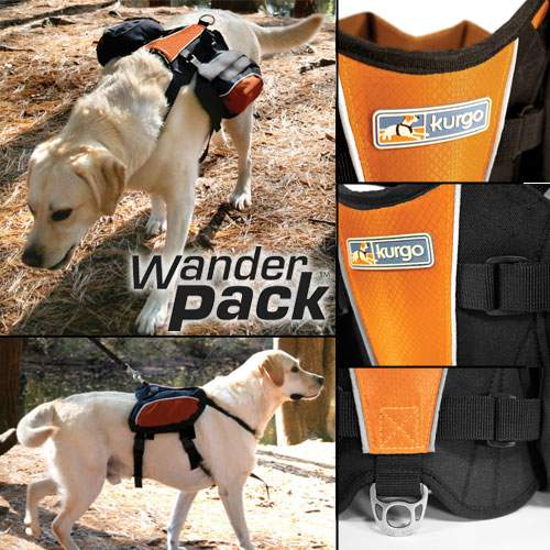Wander Pack lets your dog help out on long treks