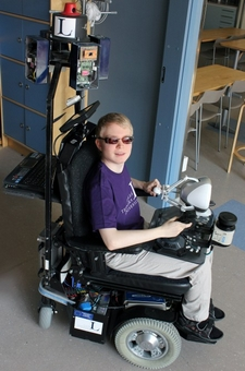 Sighted wheelchair could bring new freedom to the vision impaired