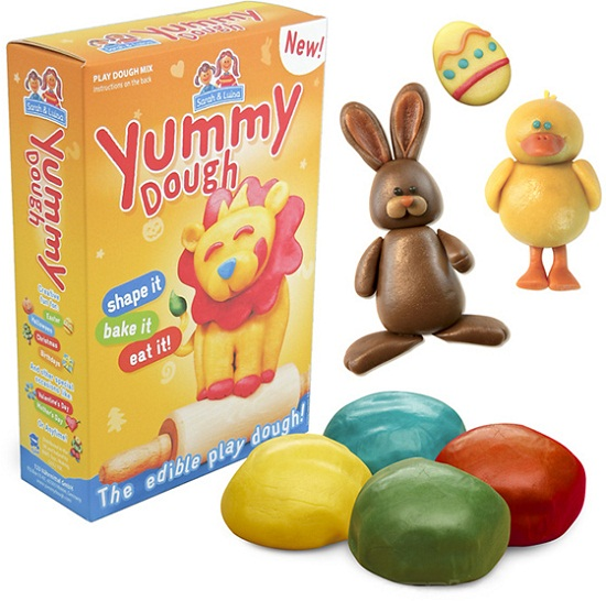 Yummy Dough is Play-Doh that you'll actually want to eat