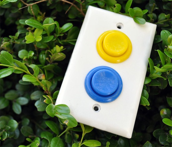 Arcade Light Switch brings the arcade to any room