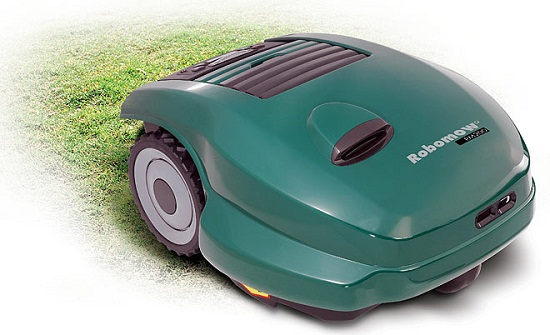 Robomower takes the effort out of maintaining your lawn