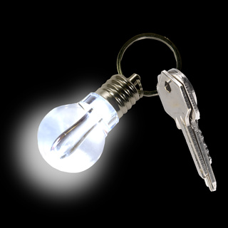 LiteBulb Keyring Light