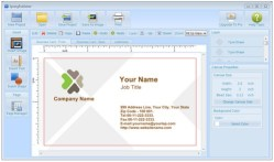 SpringPublisher – freeware lets you design and print business cards, flyers etc