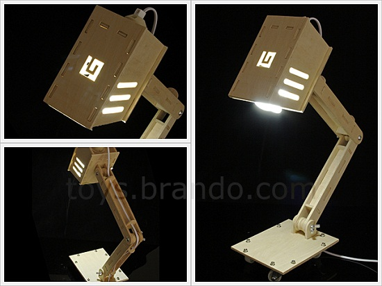 DIY Desk Lamp lets you build your own light